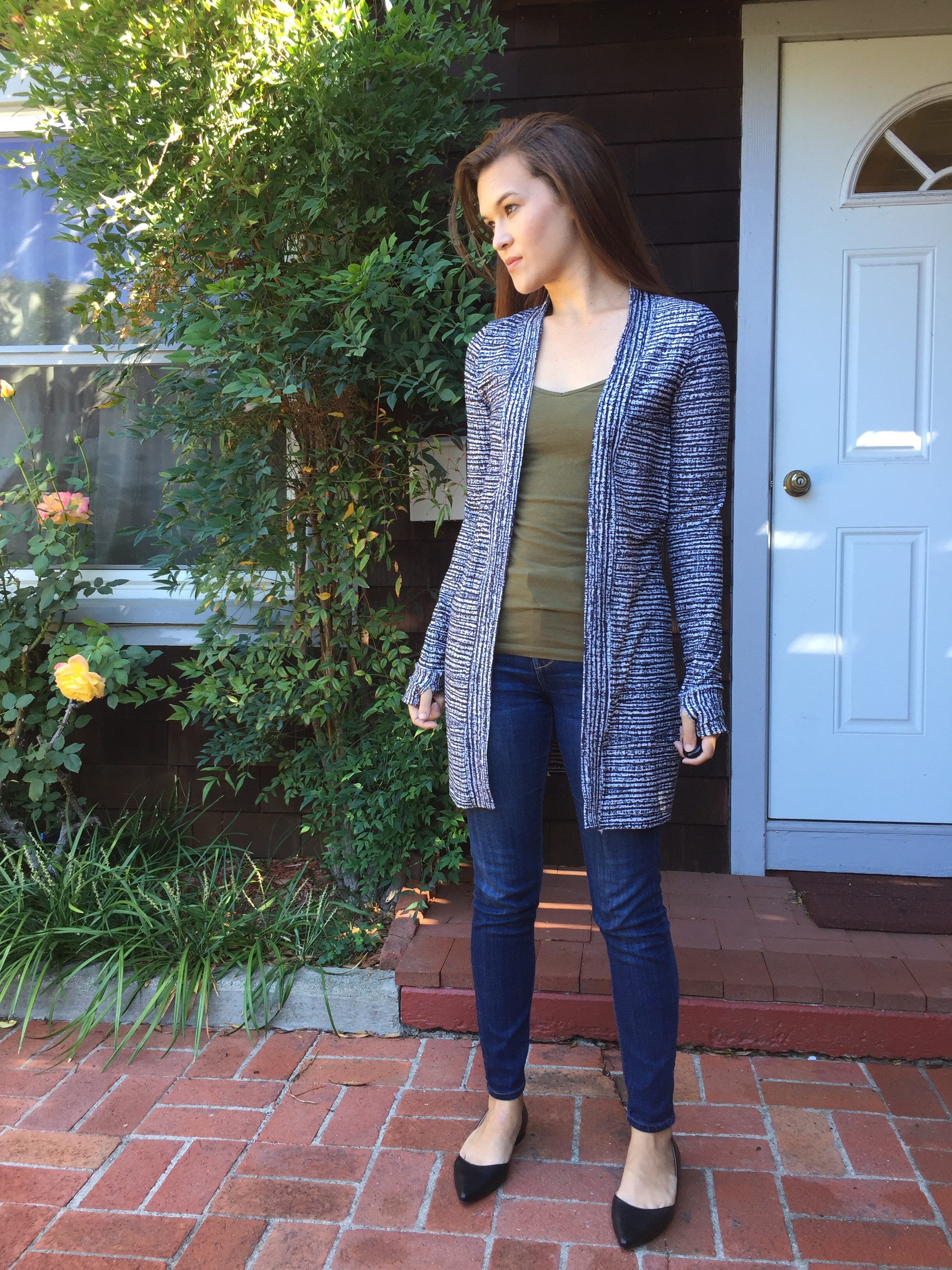 Long Blackwood Cardigan