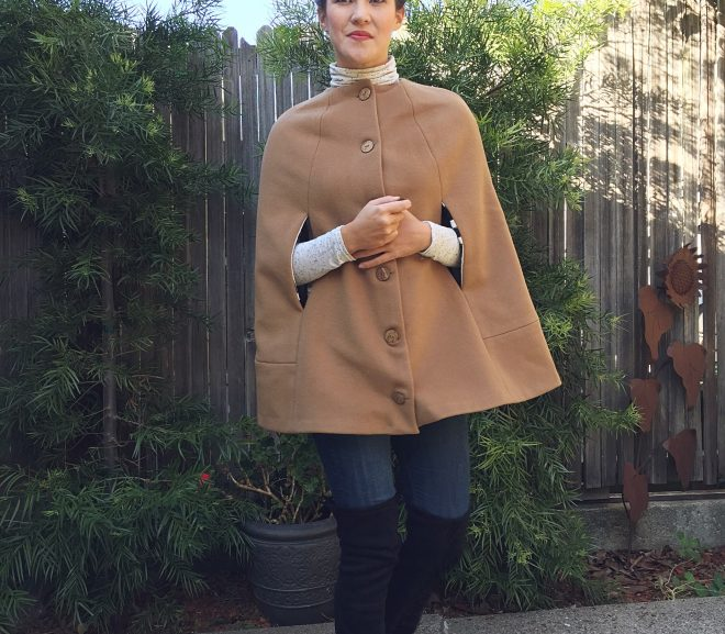 Sewing Classy: The Camden Cape