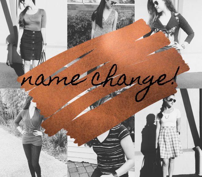 Blog Rename