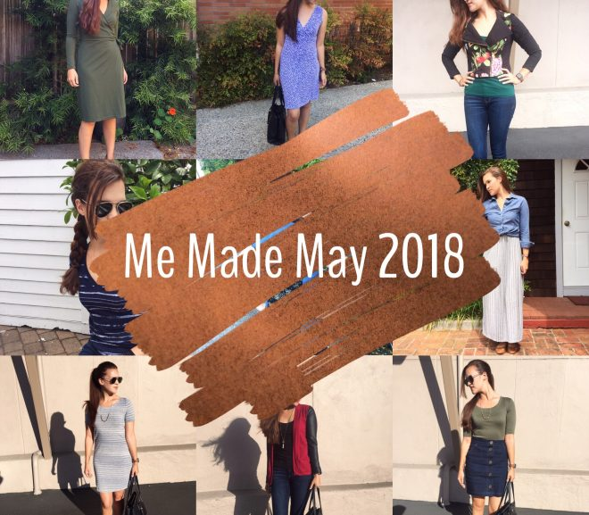 Me Made May 2018: Thoughts and reflections