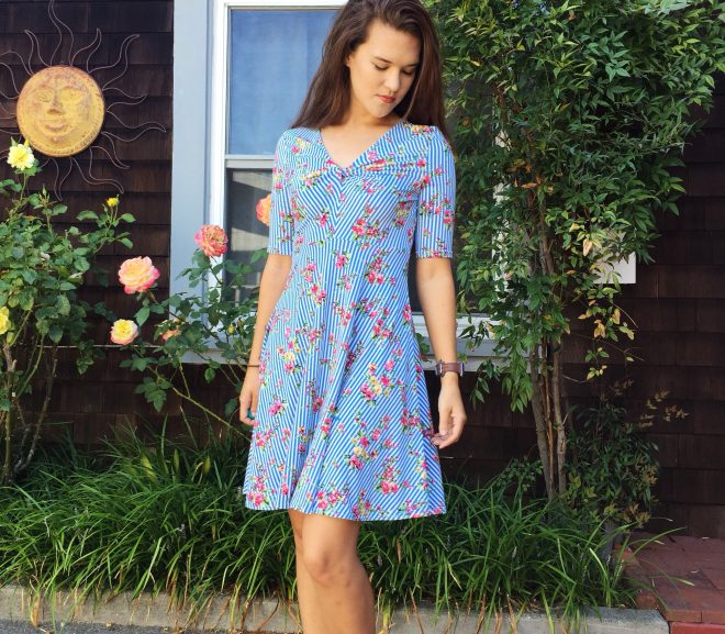 Joni Dress: Channeling my inner southern belle
